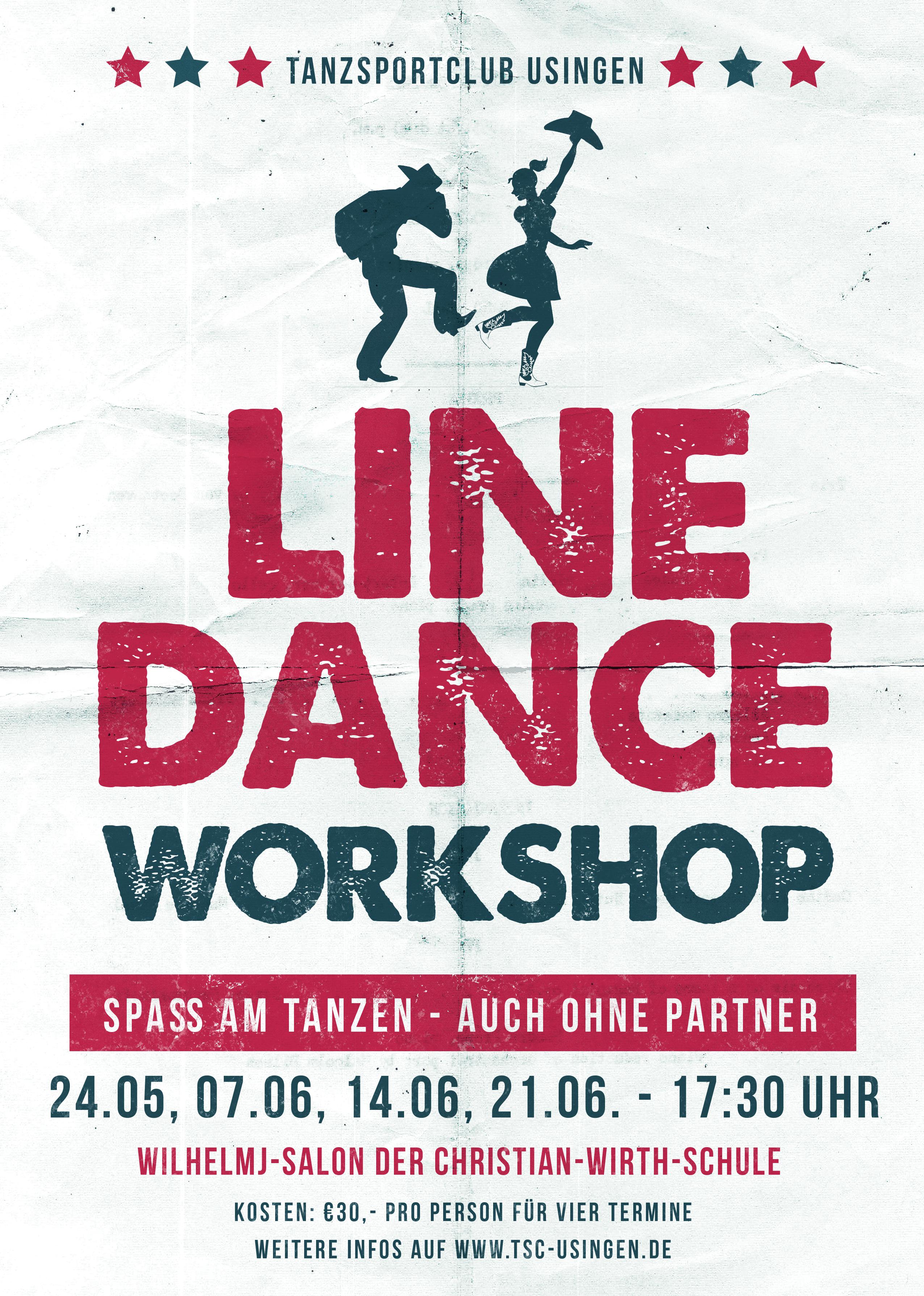 Line Dance Flyer